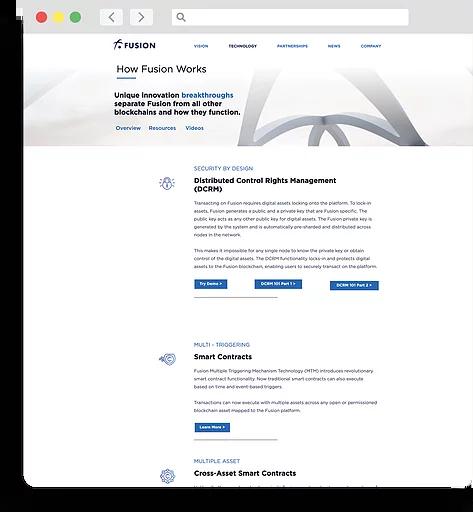 fusion-website