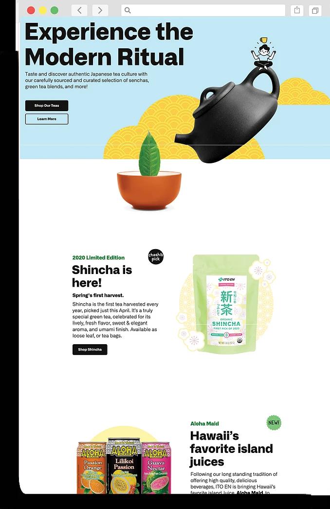 ito-en-website