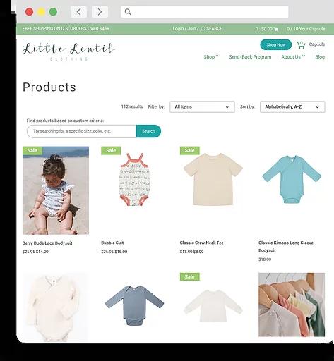 little-lentil-website